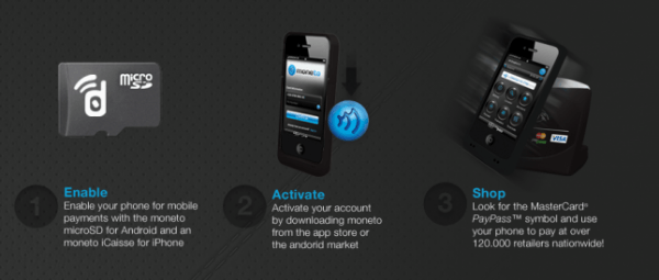 Moneto brings mobile payments to iPhone, Android through NFC