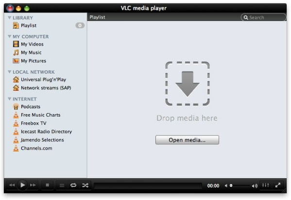 VLC 2 0 hits RC, brings new UI and Blu-ray support for OS X