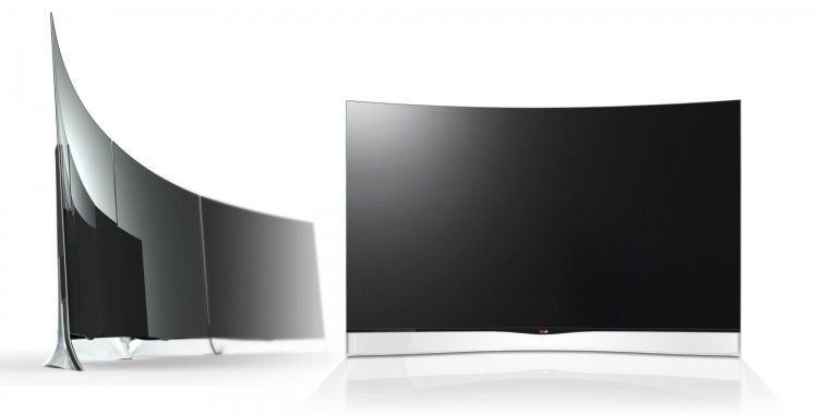 LG announces $13,500, 55-inch curved OLED for preorder in ...