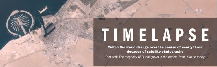 Timelapse project shows how Earth has changed over 28 years