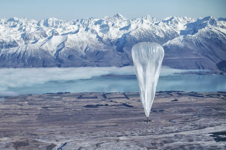 Google plans to provide worldwide internet coverage, via a network of floating balloons