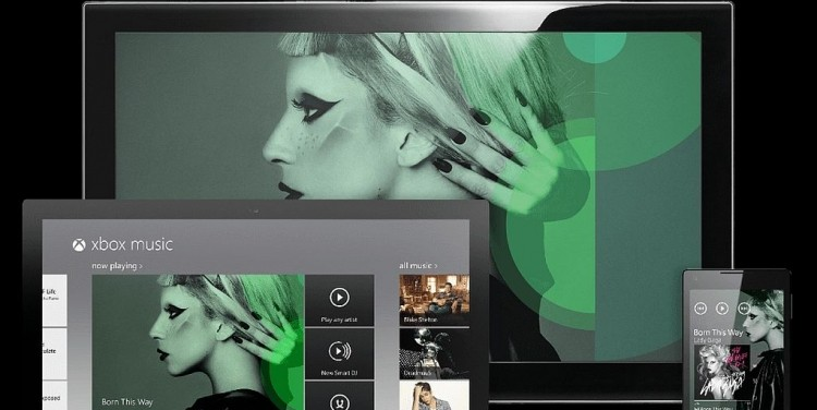 Microsoft's Xbox Music is coming to the web