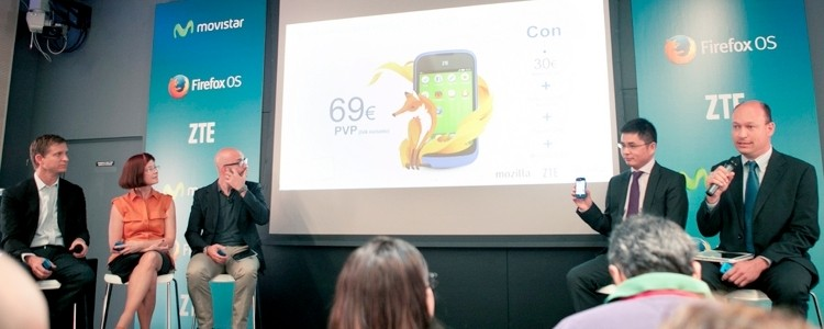 Mozilla and partners launch first Firefox OS smartphone