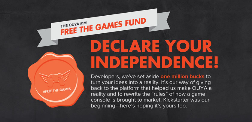 Ouya encouraging developers to use Kickstarter to their advantage