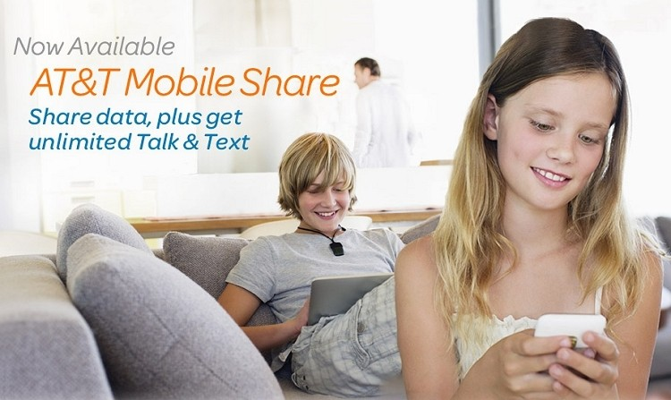 AT&T to add two new tiers to Mobile Share plan and launch Nokia 520