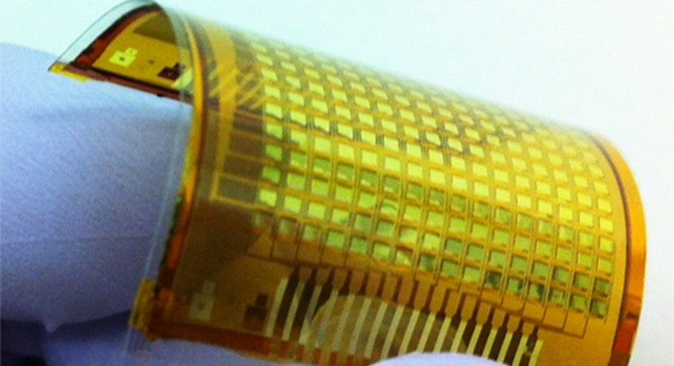 New e-skin pairs flexible electronics with touchscreen technology