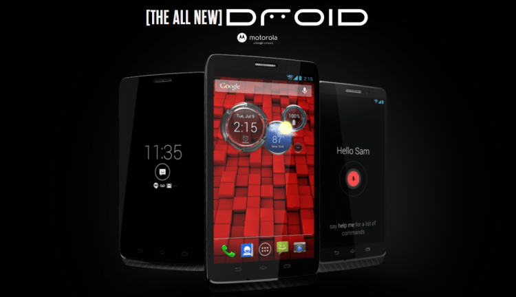 Verizon reveals the Motorola Droid Mini, Droid Ultra and DroidMaxx, introduces new in-house X8 ARM processor