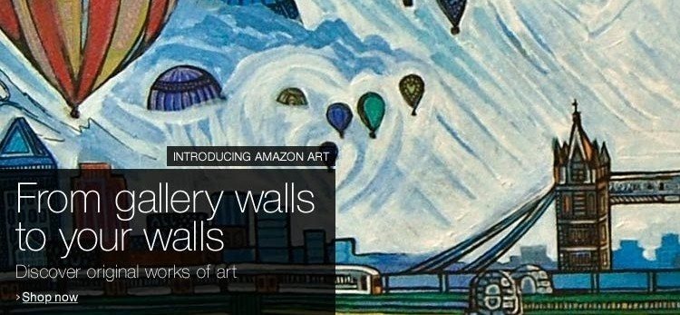 Amazon teams with art galleries, dealers to launch Amazon Art