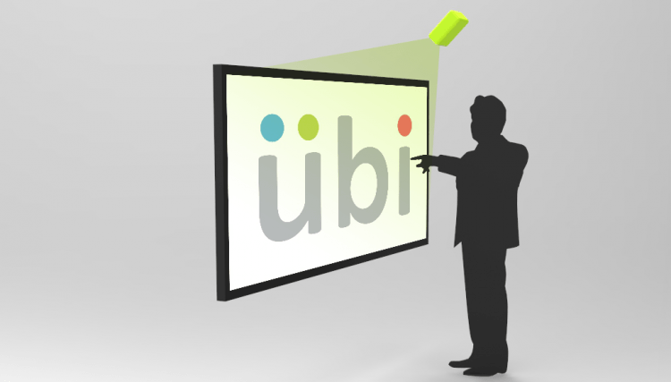 Turn any surface into a touchscreen with new Ubi software