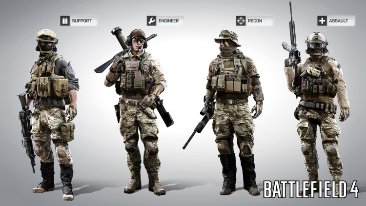 DICE drops new details on Battlefield 4's multiplayer classes