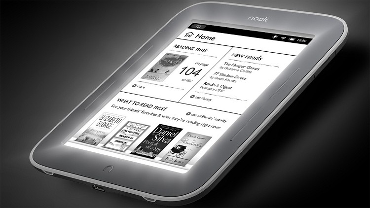 Kindle Vs Sony Reader: Barnes & Noble Gives Nook Simple Touch With GlowLight A
