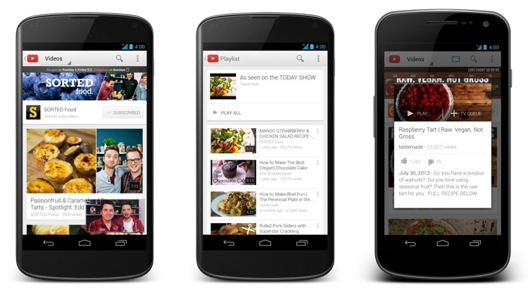 New YouTube app for iOS, Android gains multitasking and