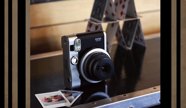 Fujifilm Instax Mini 90 blends retro design with instant film