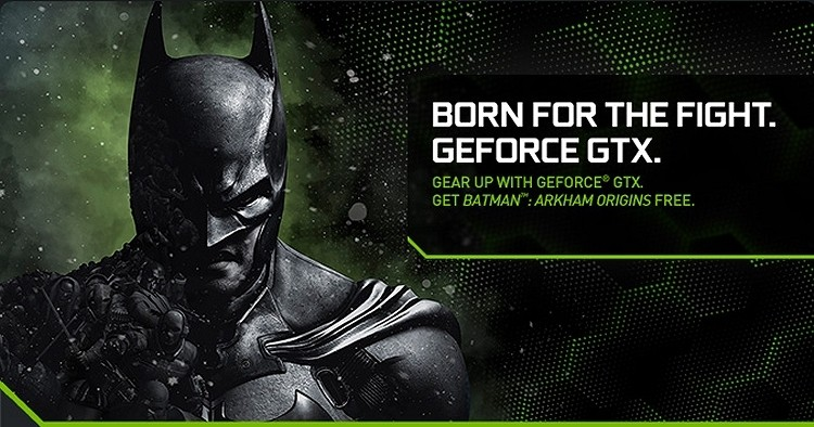 Game bundles are back: Nvidia to offer Batman Arkham Origins free with select GeForce purchases