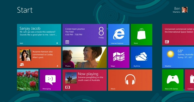Windows 8 market share surpasses all versions of OS X combined