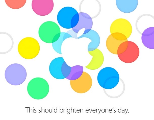 Apple sends out media invitations for September 10 iPhone event
