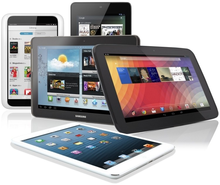 PCs vs. Tablets: Tablet shipments to outpace PCs by 2015