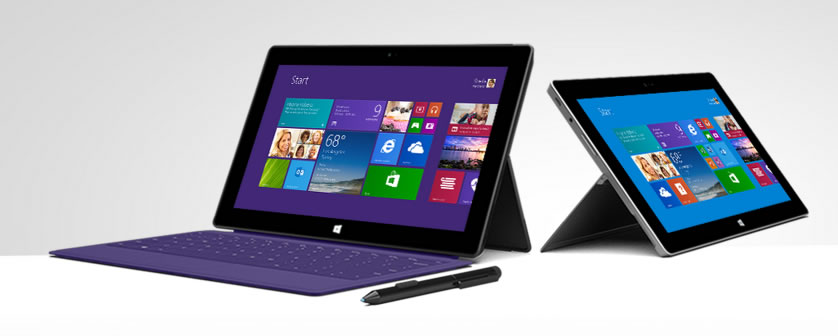 Microsoft takes another stab at hardware with new Surface 2 tablets