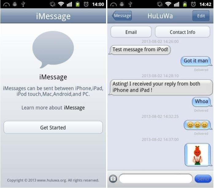 iMessage comes to Android with third-party app, numerous security concerns