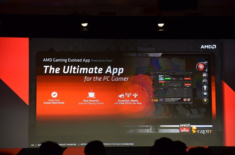 Raptr & AMD launch Gaming Evolved app to rival GeForce Experience