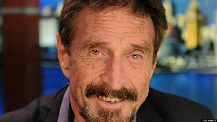 John McAfee is developing a $100 device to block the NSA