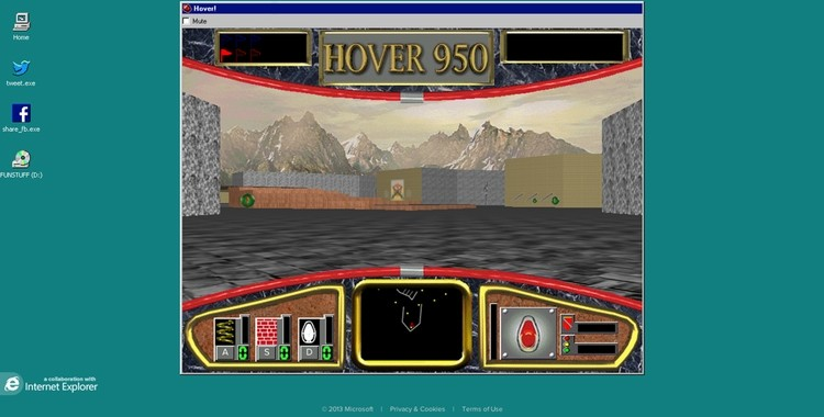 Microsoft resurrects Windows 95 game Hover!, adds Easter egg - TechSpot