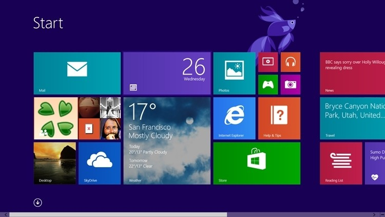 Windows 8.1 available to pre-order starting at $119