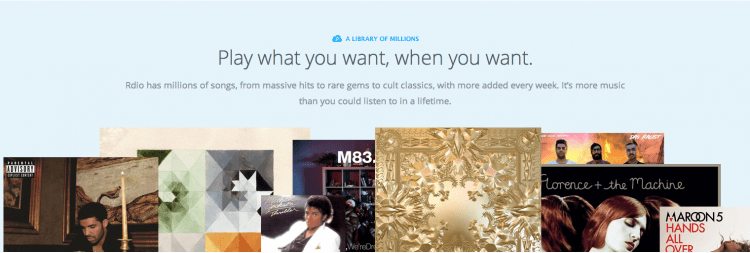 Rdio launches free music streaming intiative across the US, Canada and Australia