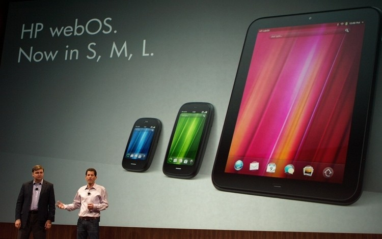 HP said to be shopping around webOS mobile patents