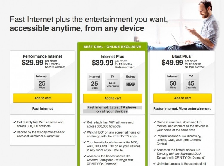 Get America's best Internet and simply awesome entertainment