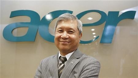 Acer CEO steps down due to disappointing Q3 PC sales