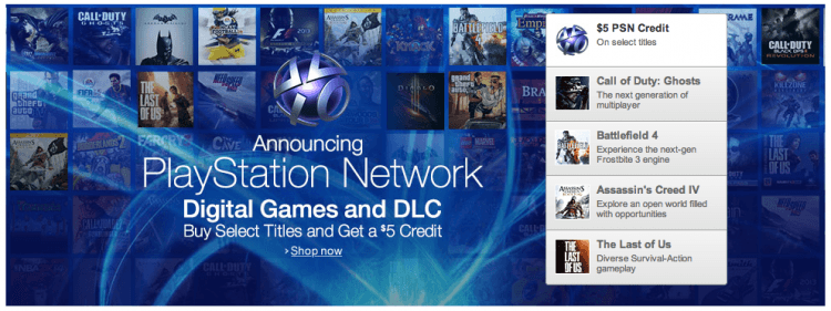 Digital PlayStation games are now available through Amazon's new PSN store