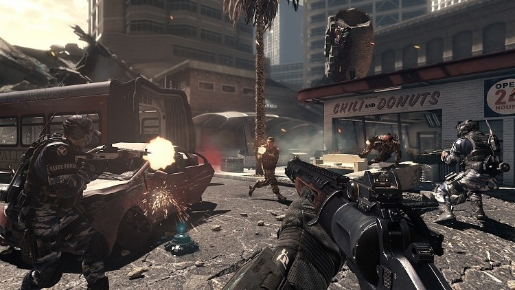 Call of Duty: Ghosts is the top-selling game on next generation consoles