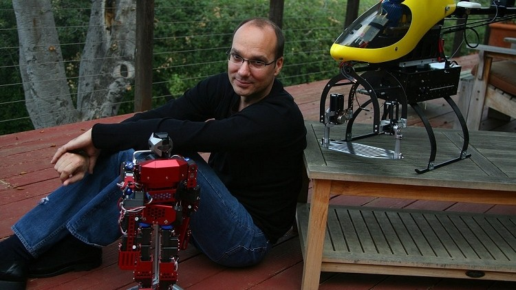 Andy Rubin's new role at Google? Building robots