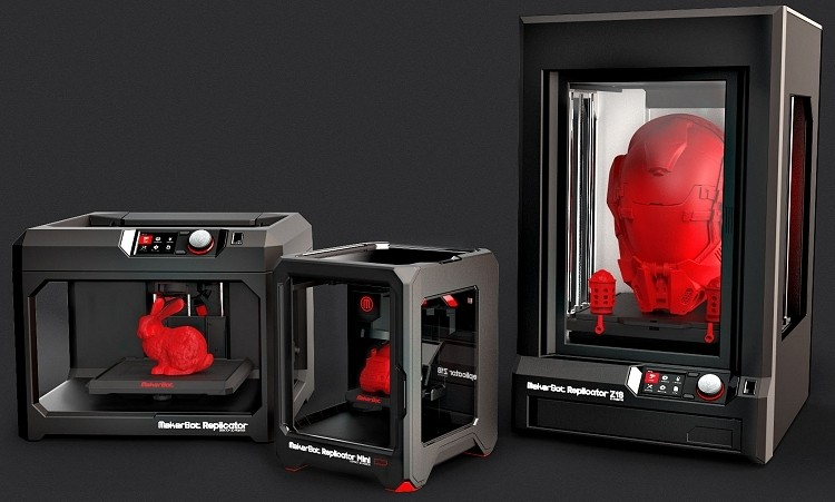 MakerBot showcases Replicator Mini and Z18 at CES, coming this spring
