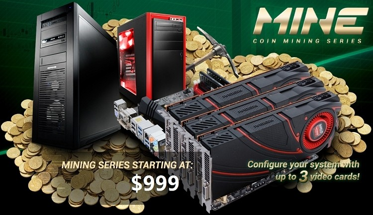 iBuyPower launches line of custom cryptocurrency miners