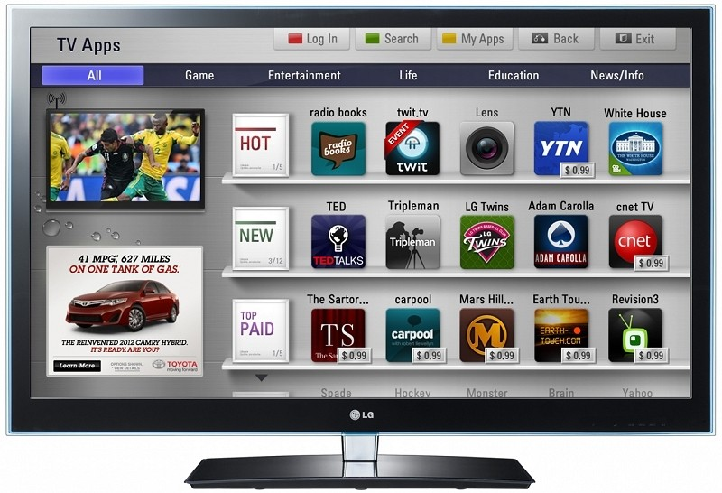 Three in five US households with broadband also own a connected TV