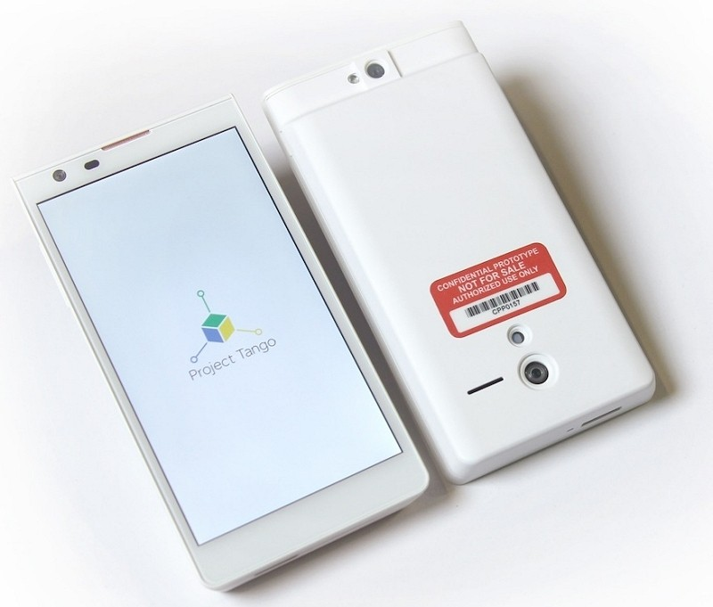 Google's 'Project Tango' smartphone is loaded with 3D sensors to map your surroundings