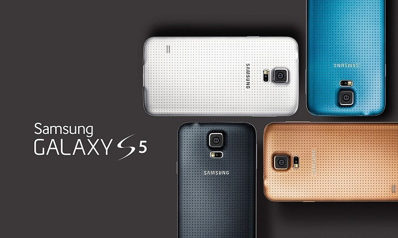 Samsung Galaxy S5 unveiled at Mobile World Congress