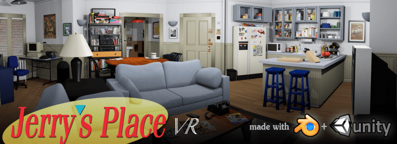 Jerry Seinfeld's apartment recreated in 3D for the Oculus Rift