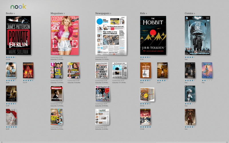 Revised agreement with Microsoft allows Barnes & Noble to drop support for its Nook Windows app