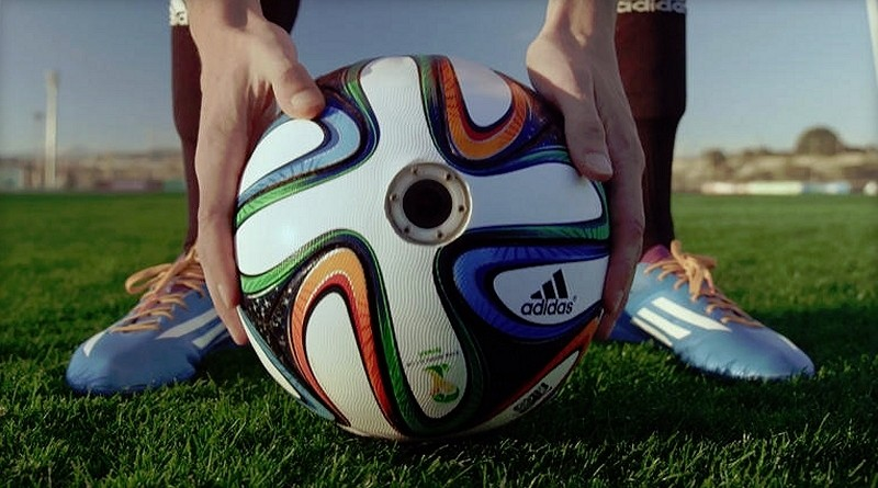 Adidas outfits World Cup soccer ball with six HD cameras, nausea sure to ensue
