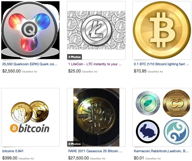 eBay quietly added virtual currency category in February