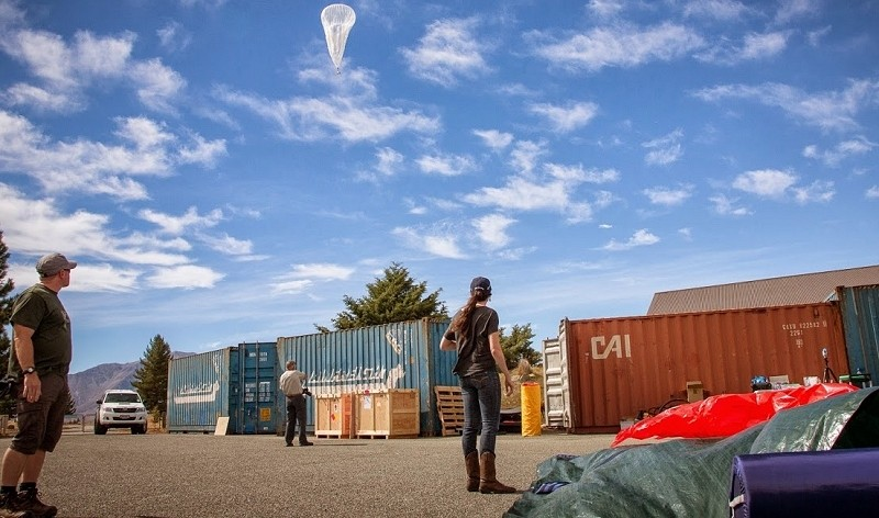 Google's Project Loon hot air balloon goes around the world in 22 days