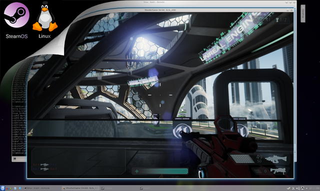 Unreal Engine 4 1 update includes support for Linux and