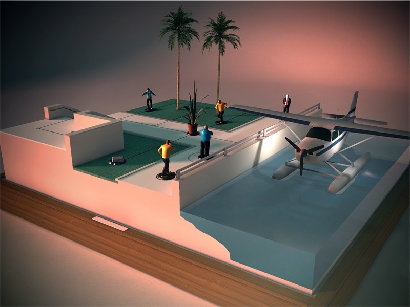 'Hitman Go' reimagines popular franchise into an iPad board game