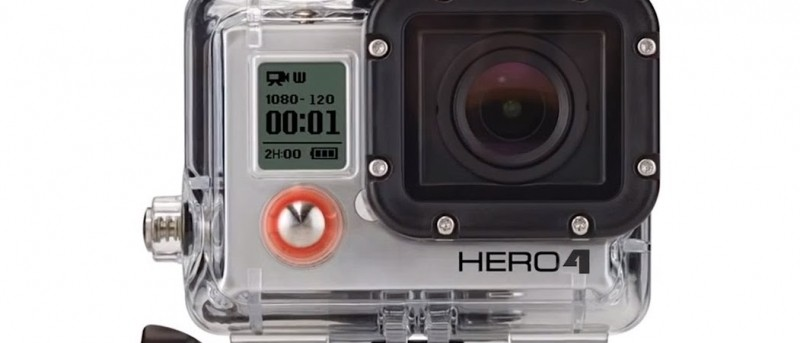 GoPro Hero4 will shoot 4K at 30 frames per second and slo-motion videos