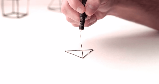 Doodle in the air with the Lix 3D printing pen
