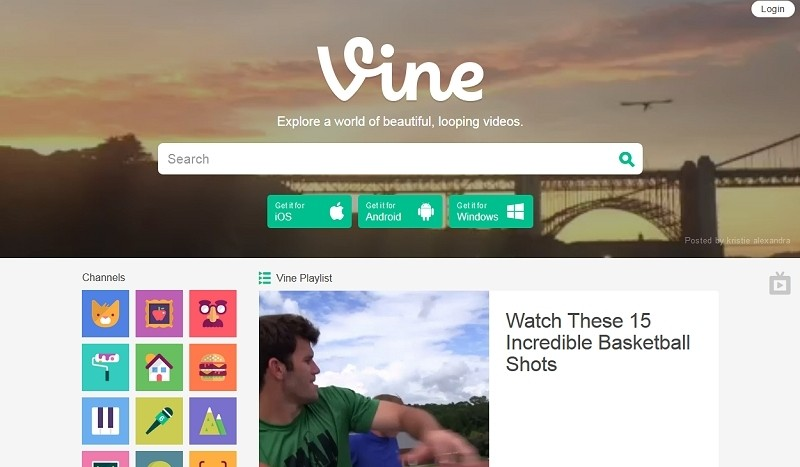 Vine redesigns website to look and feel like YouTube