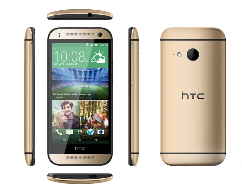 HTC unveils the One Mini 2 with 4.5 display, without Duo Camera